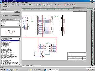 TinyCAD drawing circuit diagrams