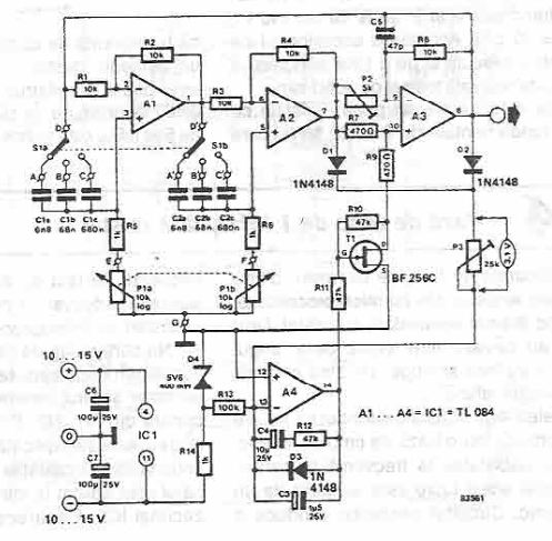 Tone Generator Electronic Project