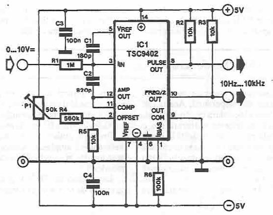 Excellent Tsc9402 Voltage Frequency Converter Circuit Diagram Wiring Database Gramgelartorg