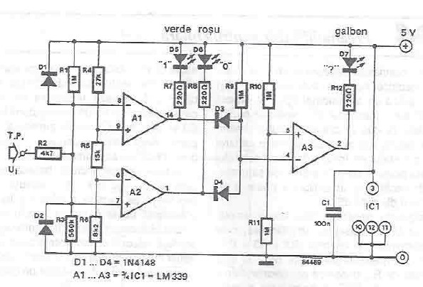 ttl tester circuit