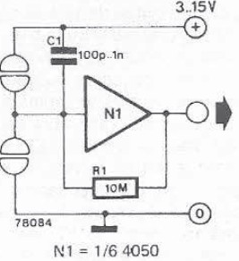 very simple touch switch sensor circuit diagram project rh electroniq net