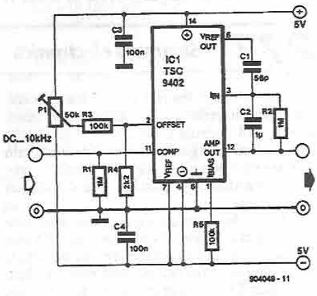 Remarkable Tsc9402 Voltage Frequency Converter Electronic Project Wiring Database Gramgelartorg