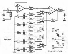Audio | Page 9 | Electronics Projects, Circuit Diagrams on compressor schematic, 5 band equalizer bass, vocoder schematic, 5 band equalizer settings, 5 band graphic equalizer,