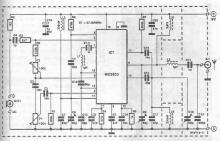 CB transmitter circuit diagram using MC2833